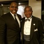 Darnell Sutton & Chairman Fred Brown