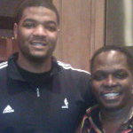 NBA Player Josh Smith and Darnel Sutton