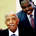 Reverend Joseph Lowery and Darnell Sutton
