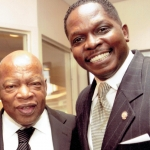 Congressman John Lewis and Darnell Sutton