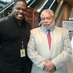 Darnell Sutton with African American Museum Executive Director Lonnie Bunch