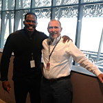 Darnell Sutton with Charlie... African American Museum - Director Faculty Management