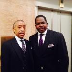 Al Sharpton and Darnell Sutton