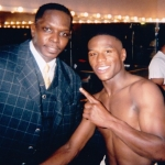 Darnell Sutton and Floyd Mayweather