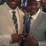 Buffalo Bills Marcell Dareus and Darnell Sutton NFL Draft Day