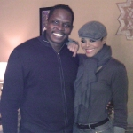 Janet Jackson and Darnell Sutton