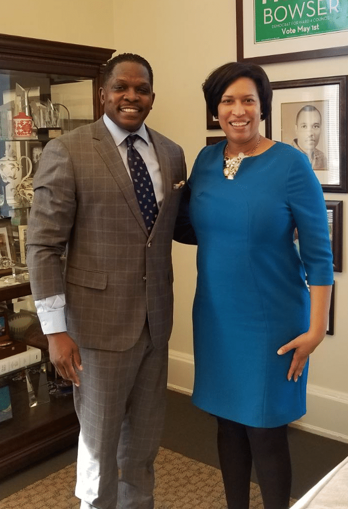 Darnell and DC Mayor Muriel Bowser: Meet on Opportunity Zones.