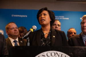Washington DC Mayor Muriel Bowser
