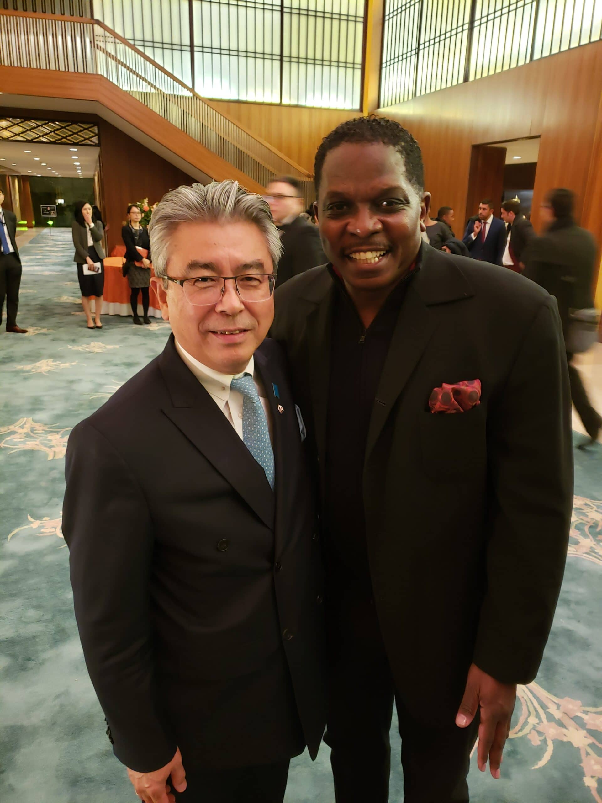Darnell Sutton Honored by Japanese Ambassador Shinsuke J. Sugiyama