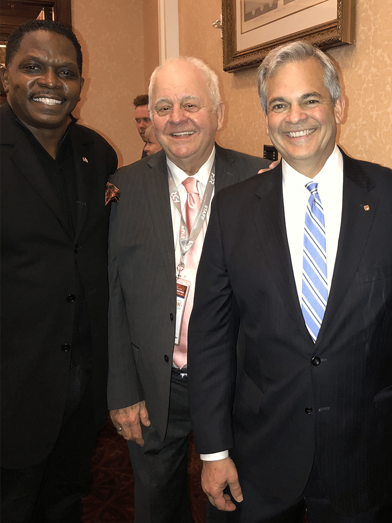 Darnell Sutton, Tom Cochran Chairman, USCM, Austin, Texas Mayor Steve Adler