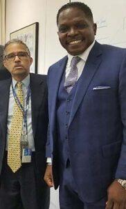 Darnell Sutton with David Byrd